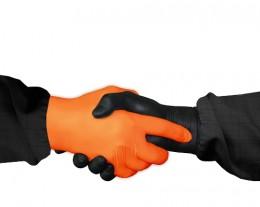 JETAPRO Перчатки нитриловые, цвет черный Jeta Pro