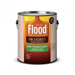Пропитка для дерева FLOOD SEMI-TRANSPARENT, алкид масляная полупрозрачная Flood