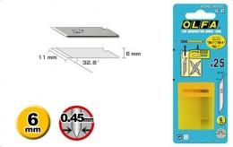 Сменное лезвие Olfa OL-KB для перового ножа AK-1, 25 шт