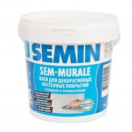 SEM-MURALE force готовый клей для декоративных настенных покрытий Semin