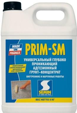 PRIM SM ПРИМ-СМ  (АДГЕЗИОННЫЙ ГРУНТ ГЛУБОКОГО ПРОНИКНОВЕНИЯ)