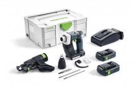 Аккумуляторный шуруповёрт Festool DURADRIVE DWC 18-4500 Li 3,1-Compact Festool