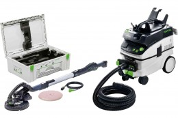 Машинка шлифовальная PLANEX, комплект  IP LHS 225-IP/CTL36/230V-Set Festool