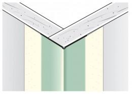 Уголок Sheetrock для внешних углов, металлизированный на бум. основе