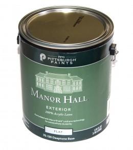 100% Акриловая фасадная краска PPG Manor Hall, для ярких оттенков PPG
