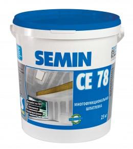 CE 78 NEW шпатлевка многофункциональная улучшенная Semin