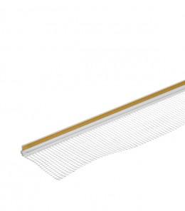 Профиль примыкания окон с сеткой с пыльником