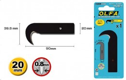 Сменное лезвие-крюк Olfa HOB-1