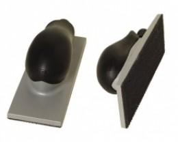Блок шлифовальный с пылеотводом  22 отв. липучка HAND SANDING BLOCK