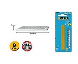 Лезвия Olfa SAB-10B высокоточные для графических работ, 10 шт.