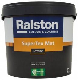 Ralston SuperTex Matt 5 W-BW / СуперТекс Матт 5 Белая-База Белая 10,0л Ralston