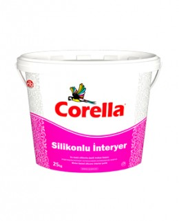 Краска Corella Silikonlu Interyer, силиконовая интерьерная Corella