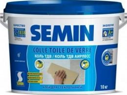 Обойный клей Semin Colle Toile De Verre Airless, для стеклообоев Semin