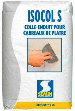 Клей-шпатлёвка Semin Isocol S, для декора и стеновых материалов Semin