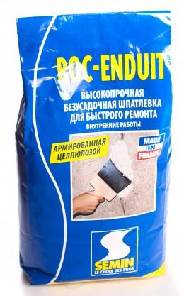 Шпатлёвка Semin Roc-Enduit, армированная безусадочная Semin