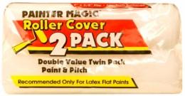 Валик малярный Wooster Painters Magic, сменные ролики, комплект 2 шт