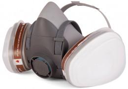 Полумаска защитная Jeta Safety J-SET 5500P, комплект с фильтрами Jeta Pro