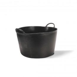Корзина пластиковая Rubi Flextub, чёрная