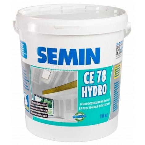 CE 78 HYDRO шпаклевка  легкая, влагостойкая Semin