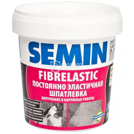 Шпатлёвка Semin Fibrelastic, ремонтная высокоэластичная Semin
