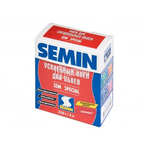 Сухой обойный клей Semin SEM SPECIAL, усиленный универсальный Semin