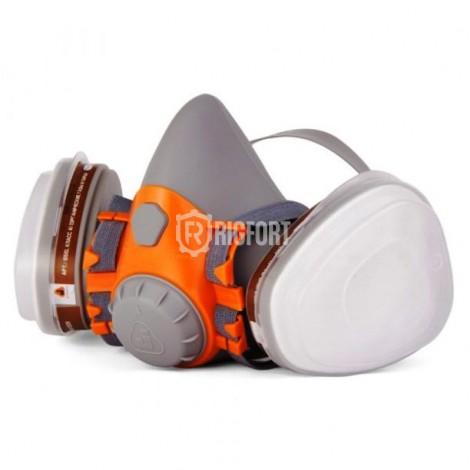 Полумаска Jeta Safety J-SET 6500 промышленная, в комплекте с фитльтрами